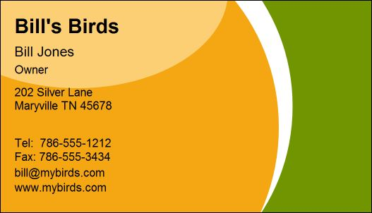 Business Card Designer Plus  Sample Business Cards