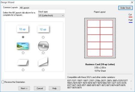 Business card designer plus business card making software screenshots business card design template layout reheart Choice Image