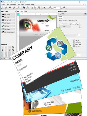 Business Card Software Business Card Designer Plus