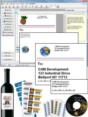 Label Designer Plus DELUXE - Great Label Software